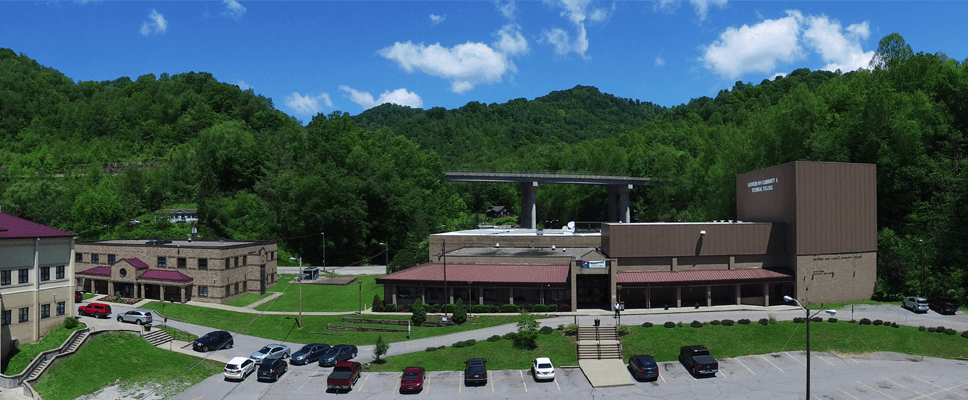 The outside of Southern West Virginia Community and Technical College's Logan Campus