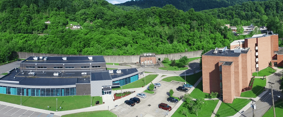 The outside of Southern West Virginia Community and Technical College's Williamson Campus
